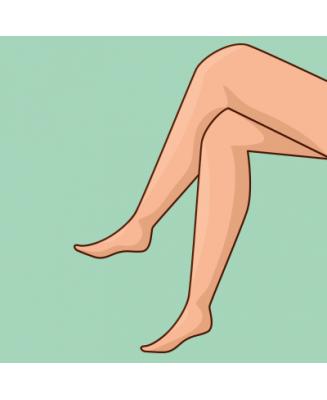 Jolies gambettes (1/2 jambes)