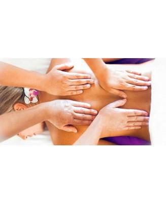 Massage quatre mains 30 min